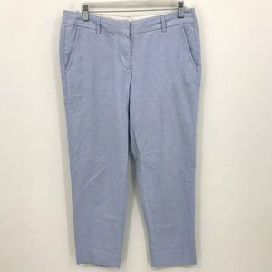 J.Crew Pants Cropped Skimmer Pants Size 6